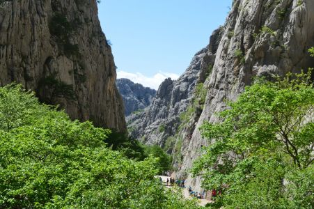 Photo National Park Paklenica . archive